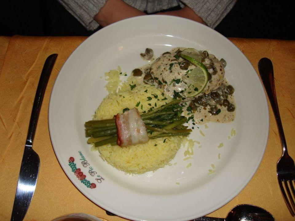 Obiad Hotel Du Pic Blanc