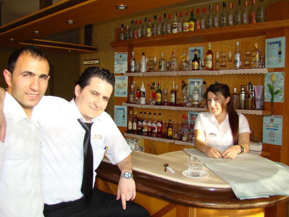 Drei nette Menschen von Personal Side Sun Hotel