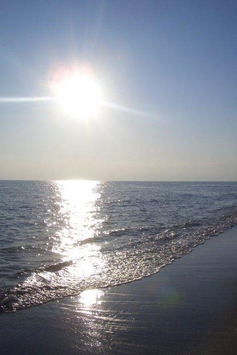 Langsam geht die Sonne unter Hotel Delphin Diva