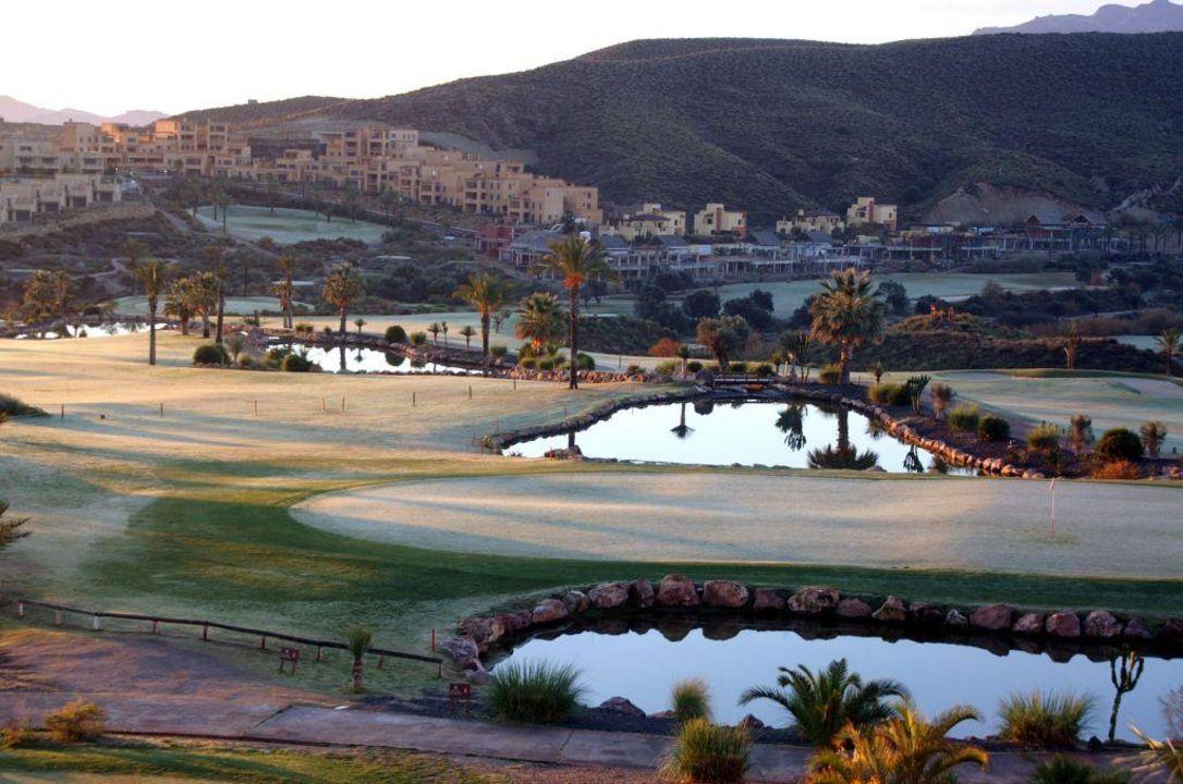 Tau auf Loch 18 Hotel Valle del Este Golf Spa