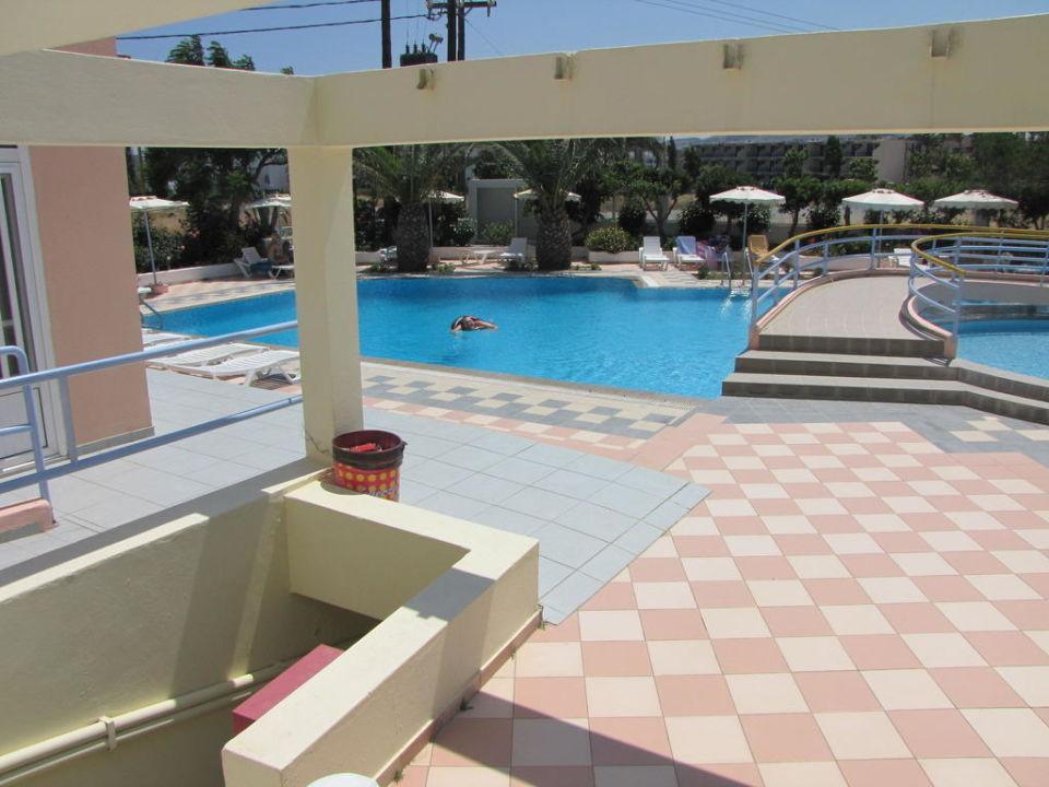 Bazén Apartments Irina