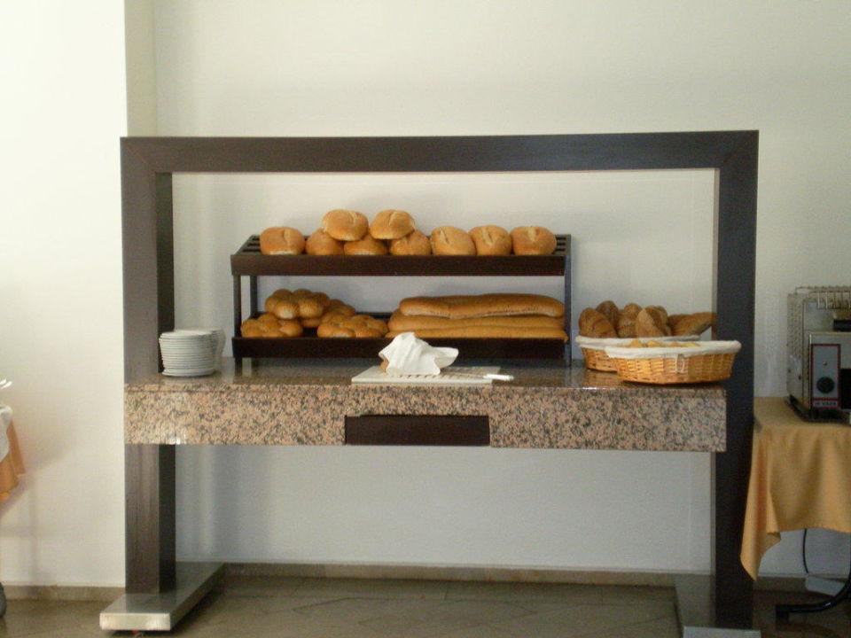 Ein Teil des Frühstücksbuffet Hotel Alara Star