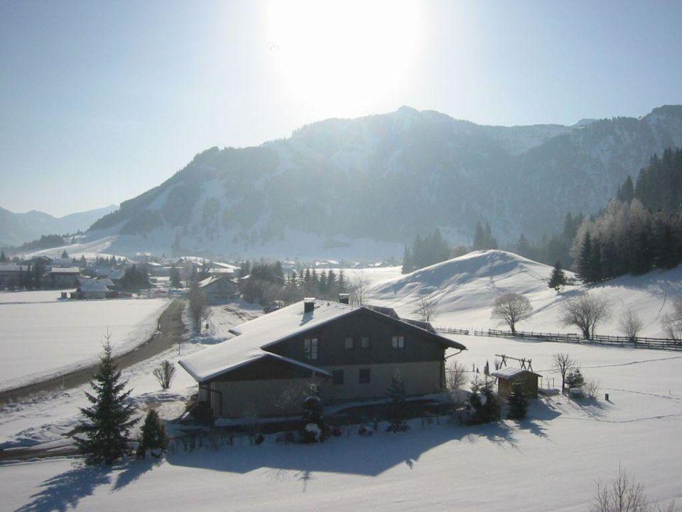 Ausblick v. Balkon Landhaus Sammer Hotel Garni