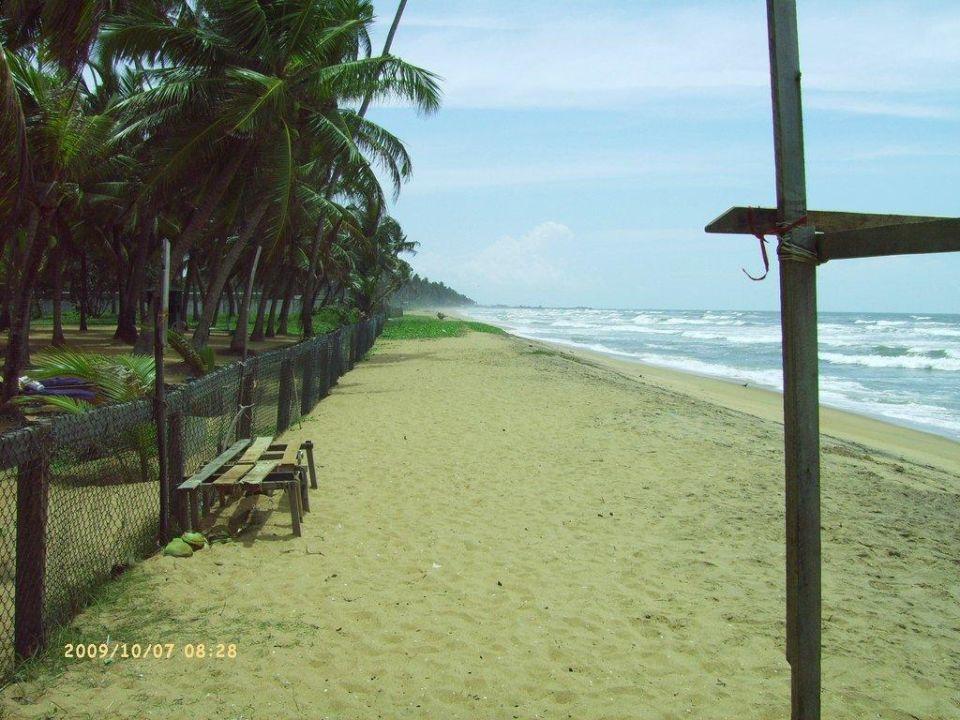 Sehr schöner Strand Villa Ocean View Resort