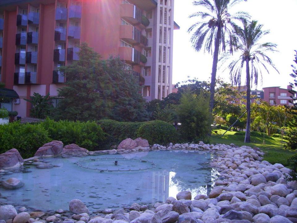 Ещё один фонтан TT Hotels Pegasos Resort