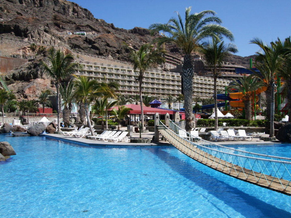Blick zum Hotel Hotel Paradise Valle Taurito