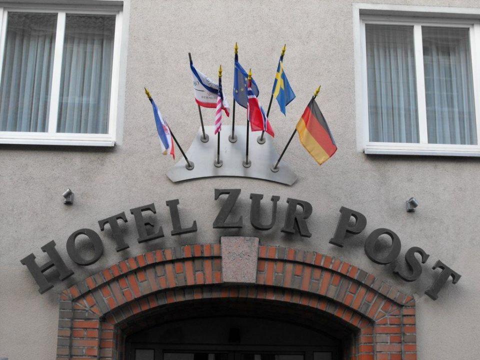 Eingang Altstadt Hotel zur Post Stralsund