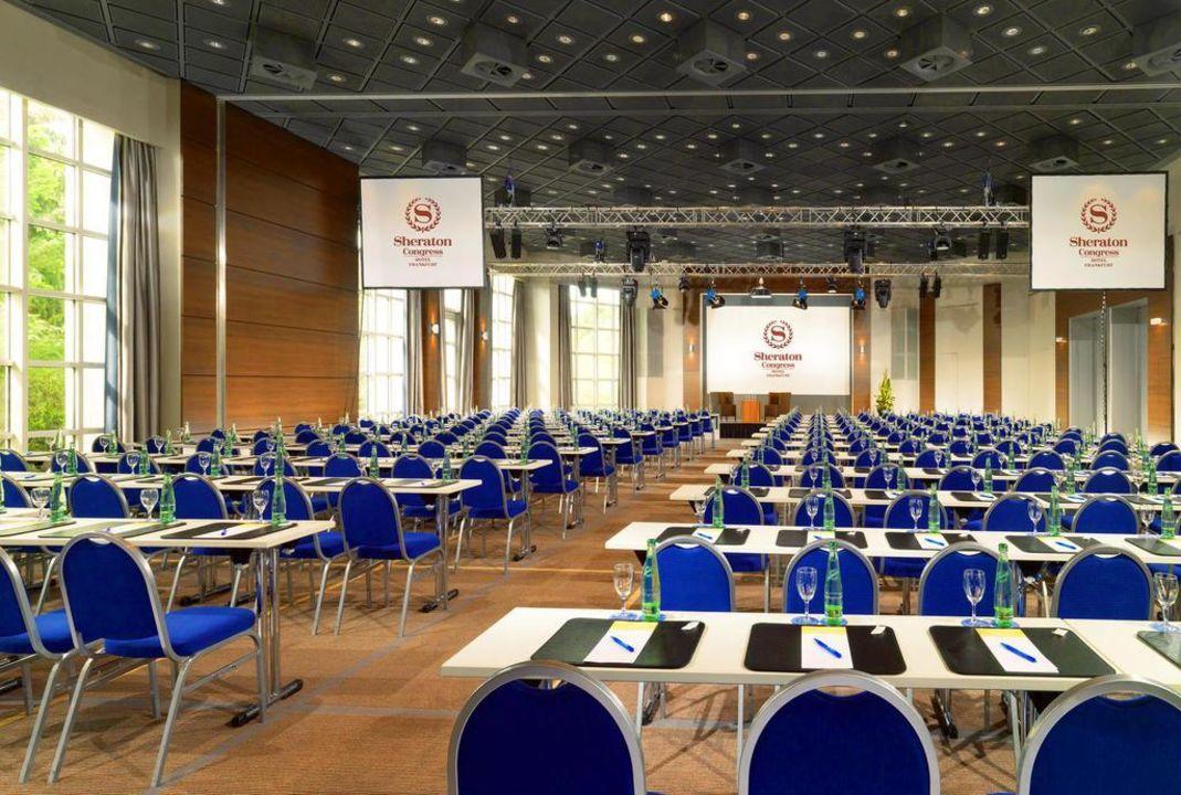 Sheraton Congress Hotel Frankfurt Arabellasaal Plaza Frankfurt Congress Hotel