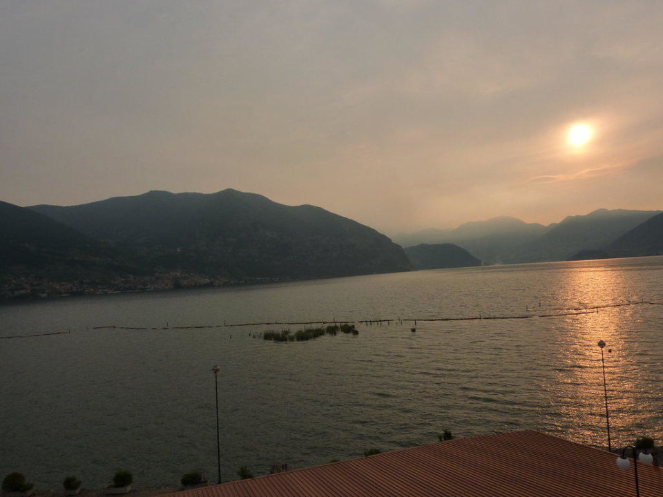 Sonnenuntergang Hotel Rosmunda
