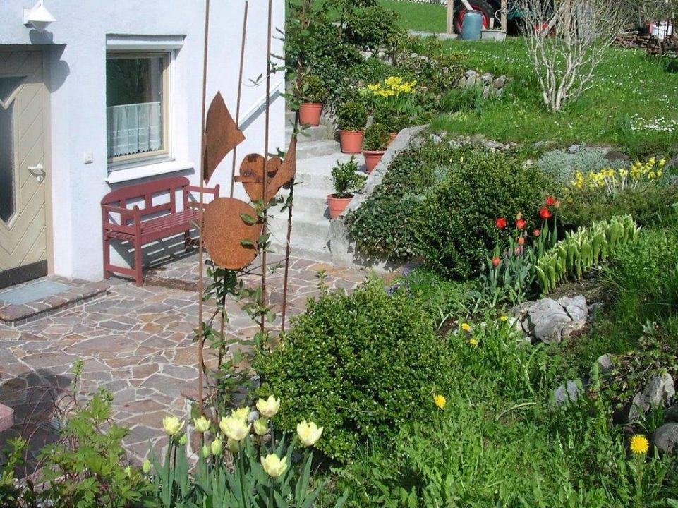 Eigene Terrasse  Ferienwohnung Monika Steber
