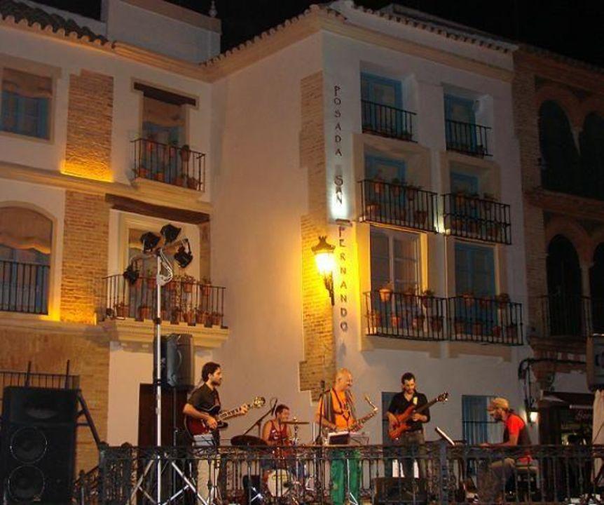 Foto de afuera Hotel Posada san Fernando