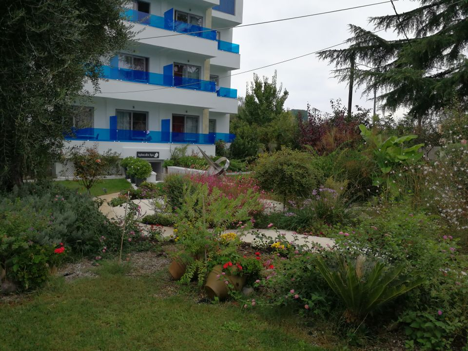 Gartenanlage Corfu Palma Boutique Hotel