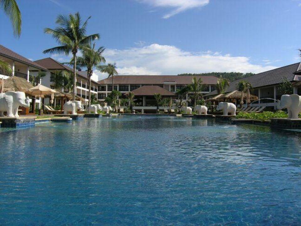 Koh Samui, Bo Phut Beach, Bandara Resort & Spa - Hauptpool Bandara Resort & Spa Samui