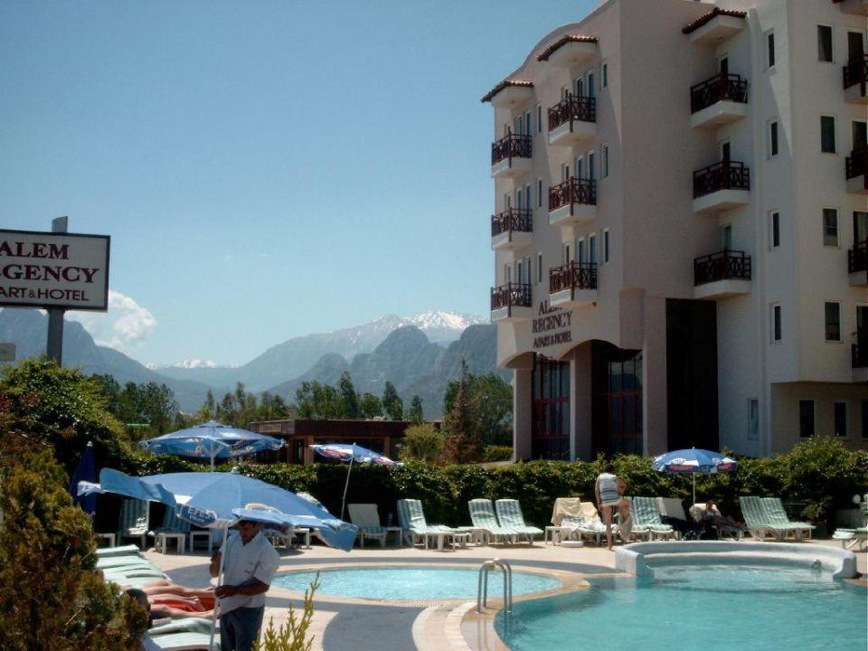 Ausblick vom Pool Sealife Family Resort Hotel