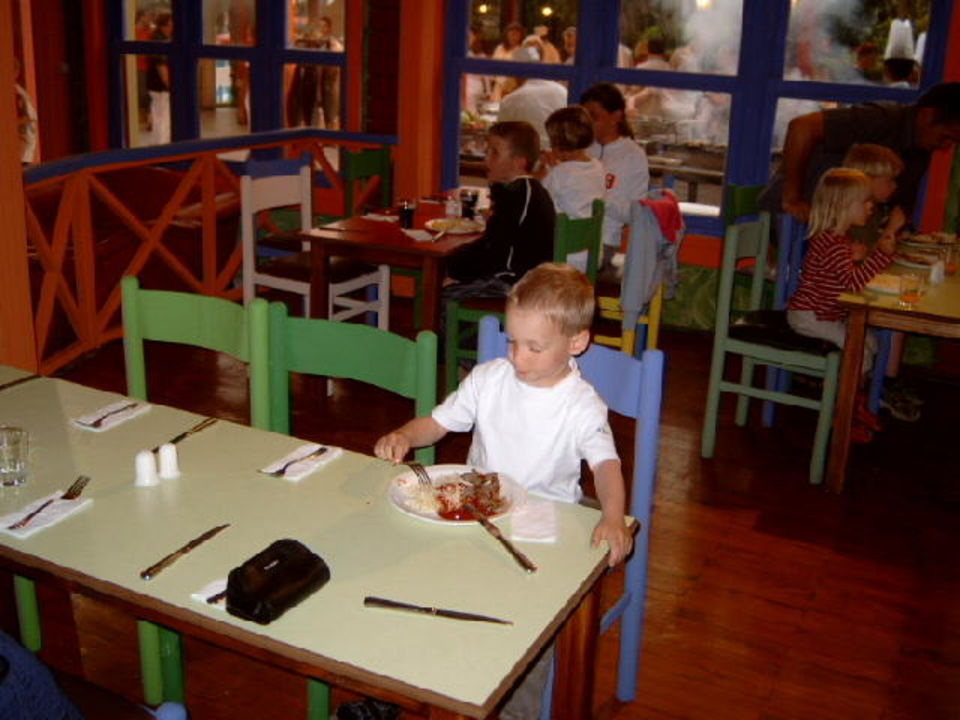 Im Minirestaurant Paloma Grida Resort & Spa Hotel