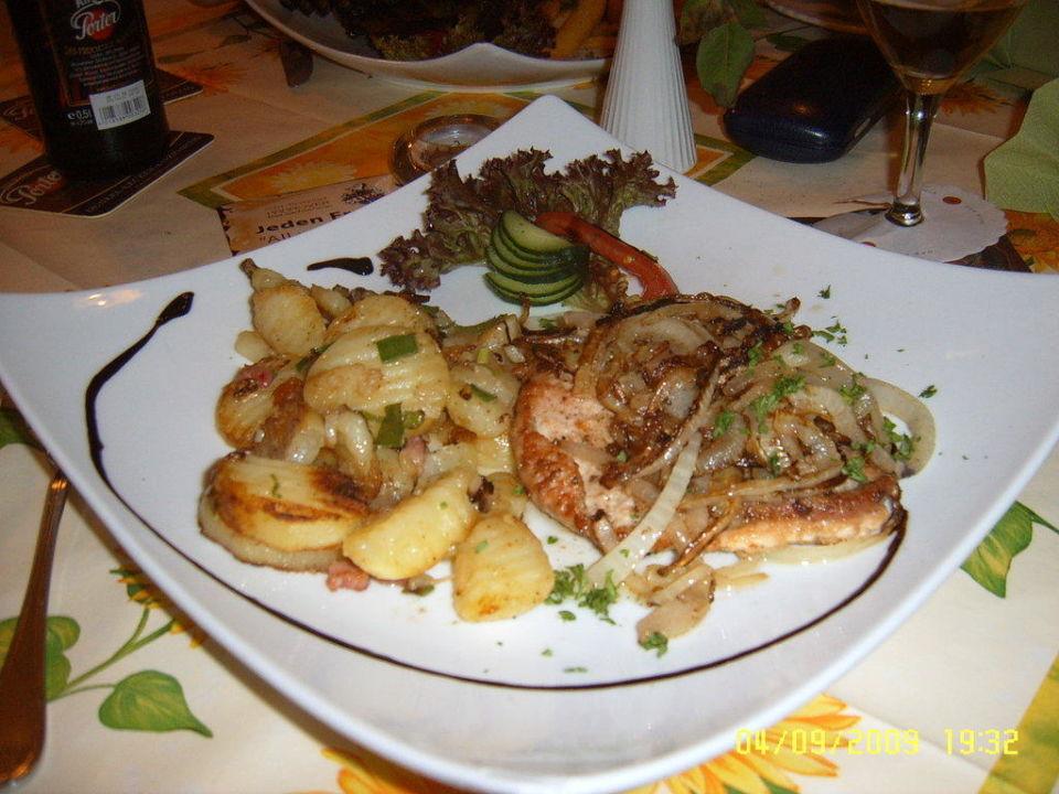 Köstliches Essen im Restaurant-Rostbrätl Hotel Hannover  (geschlossen)
