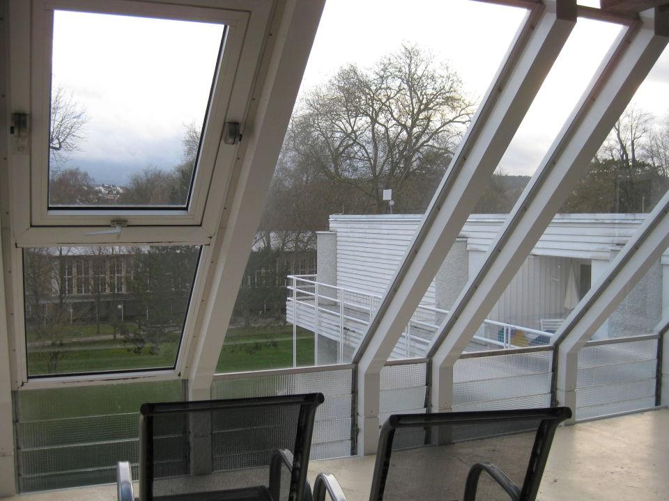 Verglaster Balkon Best Western Premier Parkhotel Bad Mergentheim