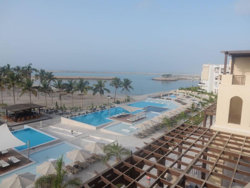 Ausblick Vom Balkon Oberste Etage Fanar Hotel Residences Salalah