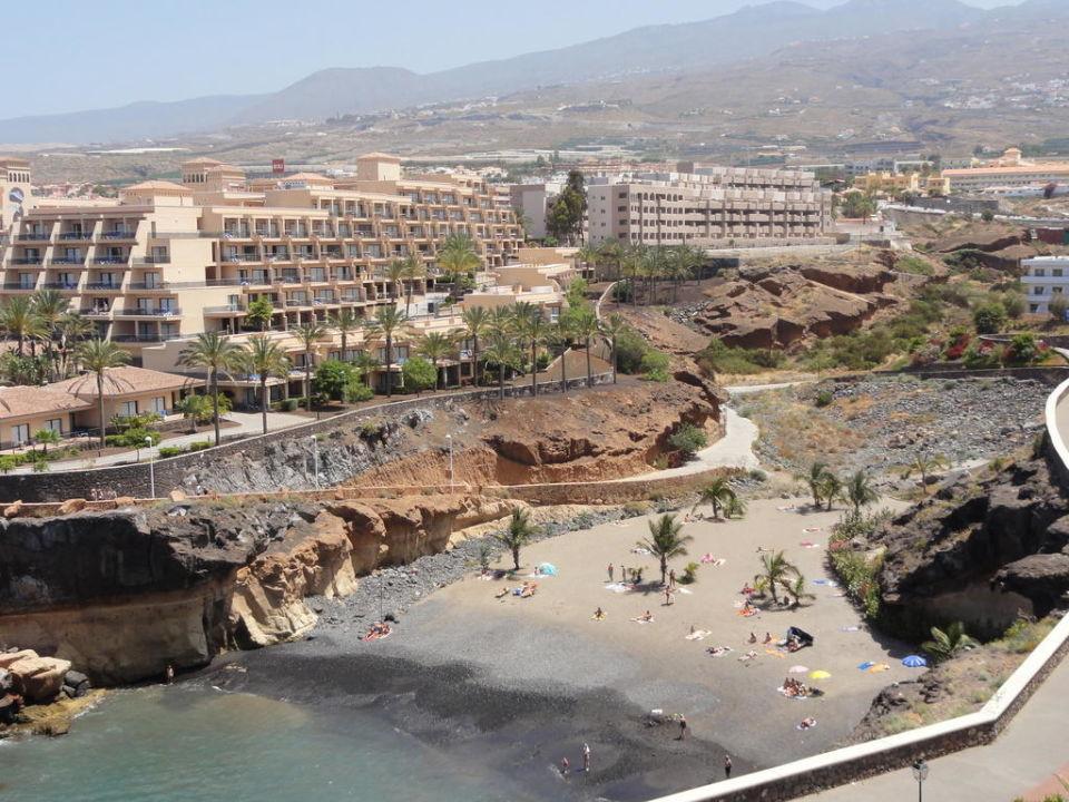 Strandbucht Playa Paraiso Adrian Hoteles Roca Nivaria Costa Adeje