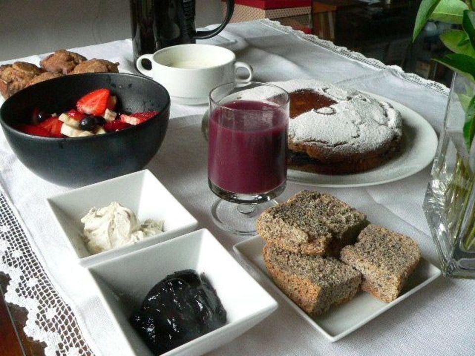 Menu dolce Bed & Breakfast Vegan La Casota