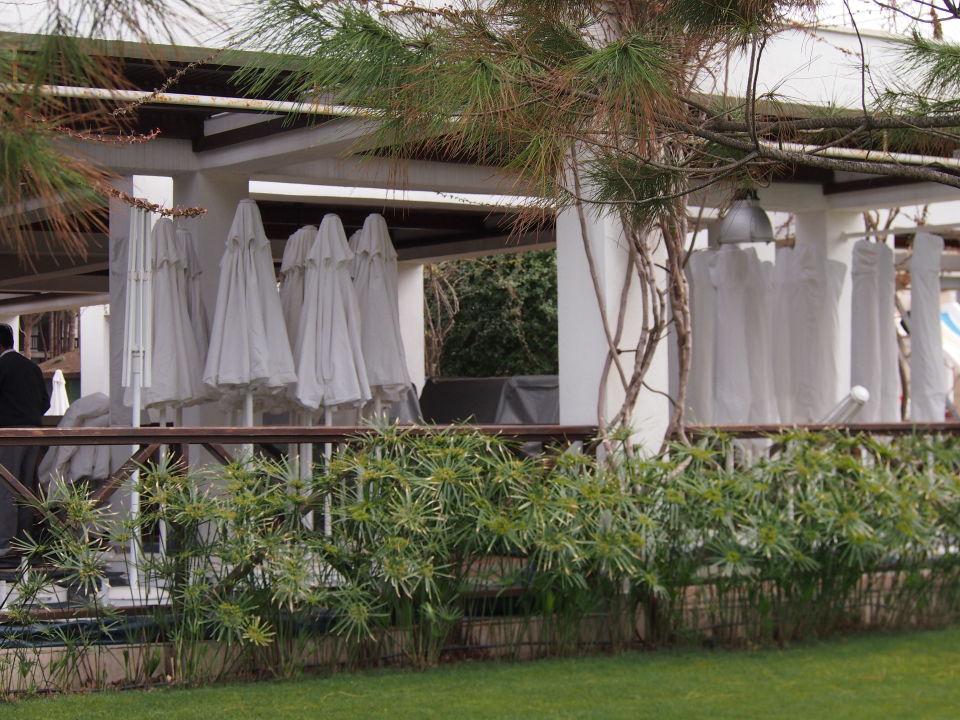 Reparatur Und Erneuerung Der Sonnenschirme Voyage Belek Golf Spa