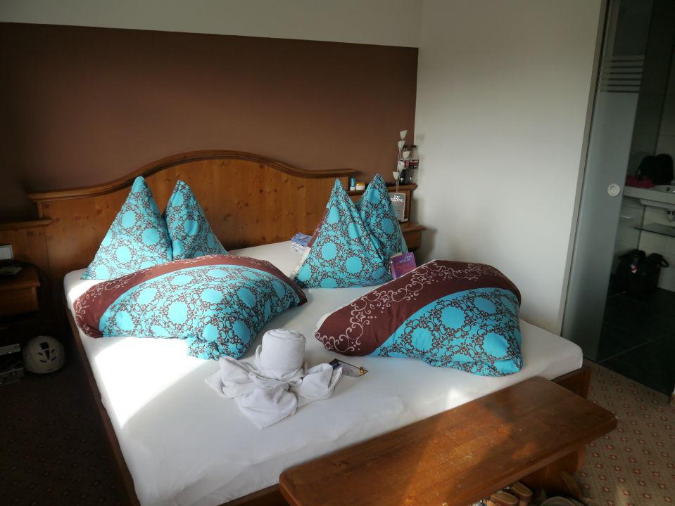 Schlafzimmer Pension Bettina