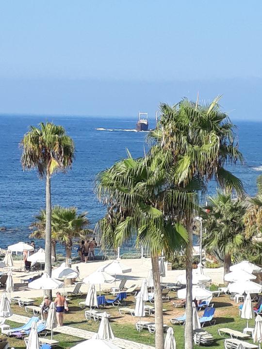 Ausblick Akti Beach Village Resort
