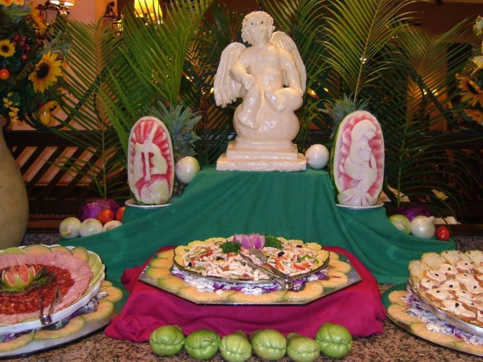 Wieder was zum Essen RIU Yucatan Hotel Riu Yucatan