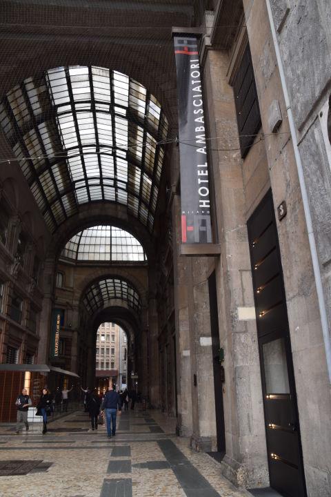 Außenansicht iH Hotels Milano Ambasciatori