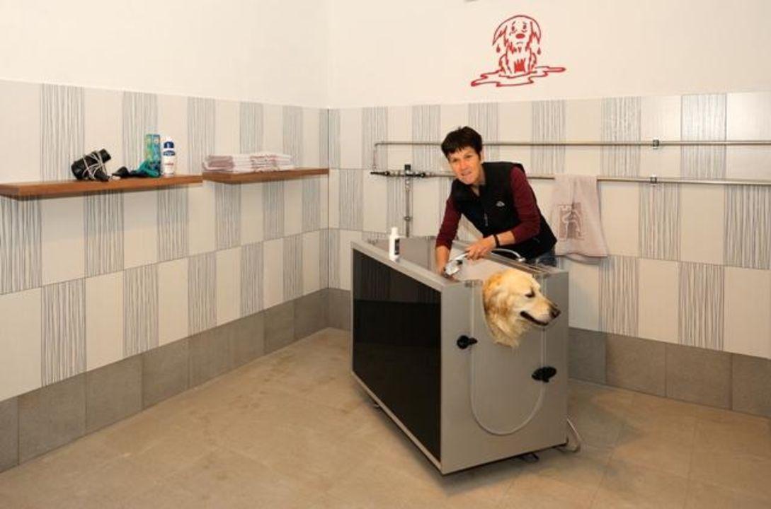 Hundewaschanlage Hotel Mair am Ort