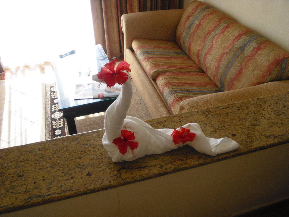 Handtuchkunst Hotel Riu Palace Punta Cana