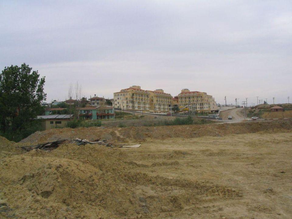 Blick aufs Hotel aus suedoestlicher Richtung Diamond Beach Hotel & Spa
