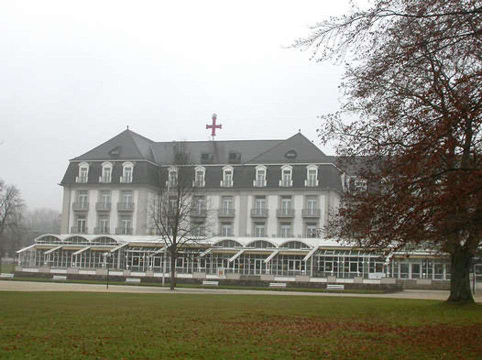 Hotel Steigenberger Bad Pyrmont, Kurparkseite Steigenberger Hotel & Spa Bad Pyrmont
