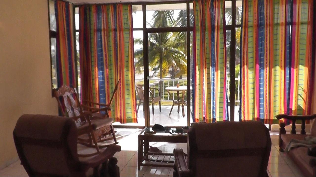 Das Wohnzimmer des Hauses Hotel Los Pinos