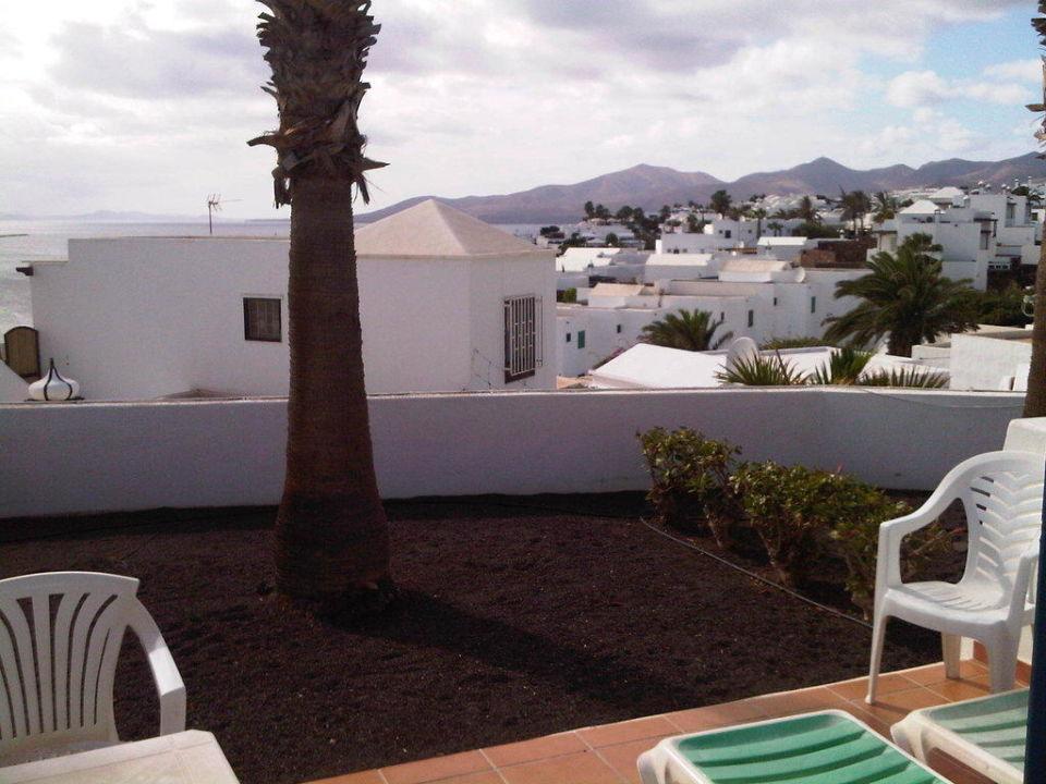 Ausblick von der Terrasse Apartments Balcon del Mar  (existiert nicht mehr)
