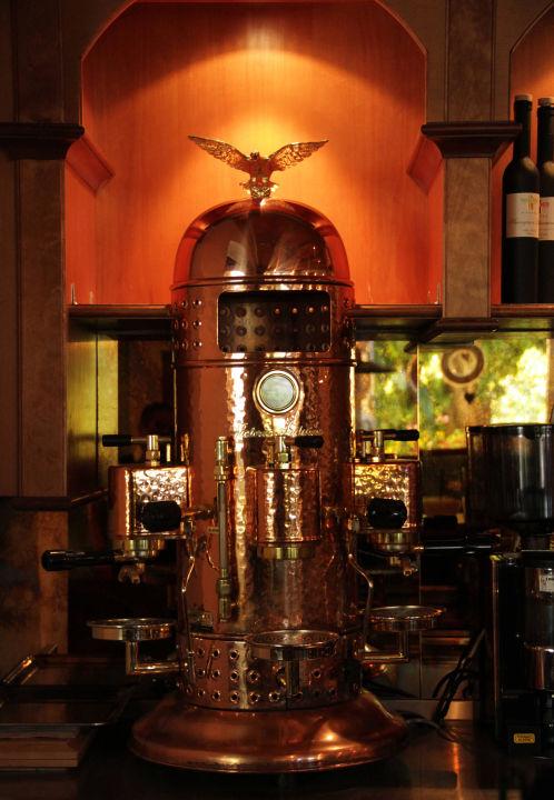Kaffeemaschine Hotel Wolkenstein in Selva di Val Gardena  -> Kaffeemaschine Italien