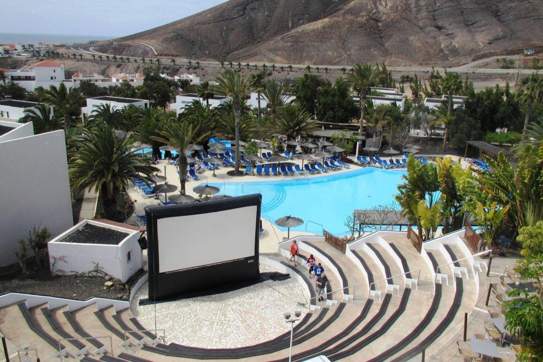 Open Air Kino Allsun Hotel Esquinzo Beach Esquinzo Holidaycheck