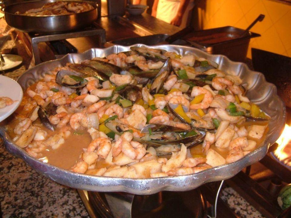 Meeresfrüchte Buffet Riu Yucatan Hotel Riu Yucatan
