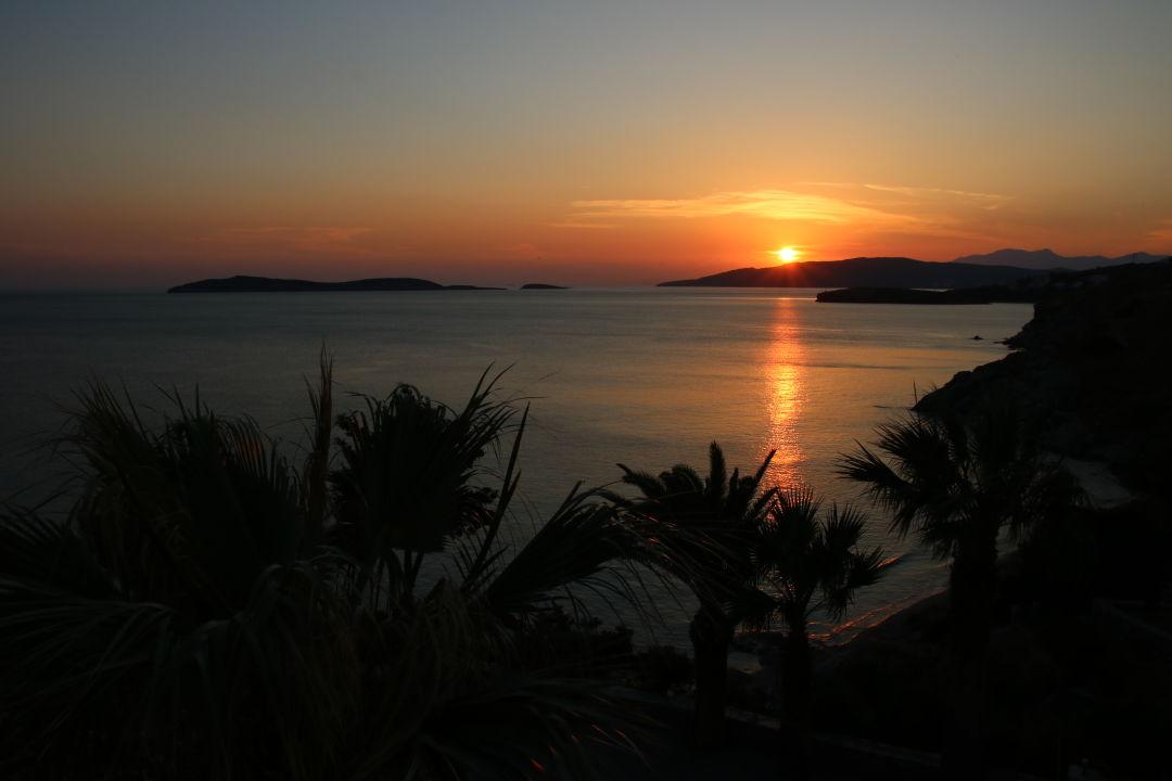 Ausblick Hotel Aneroussa Beach