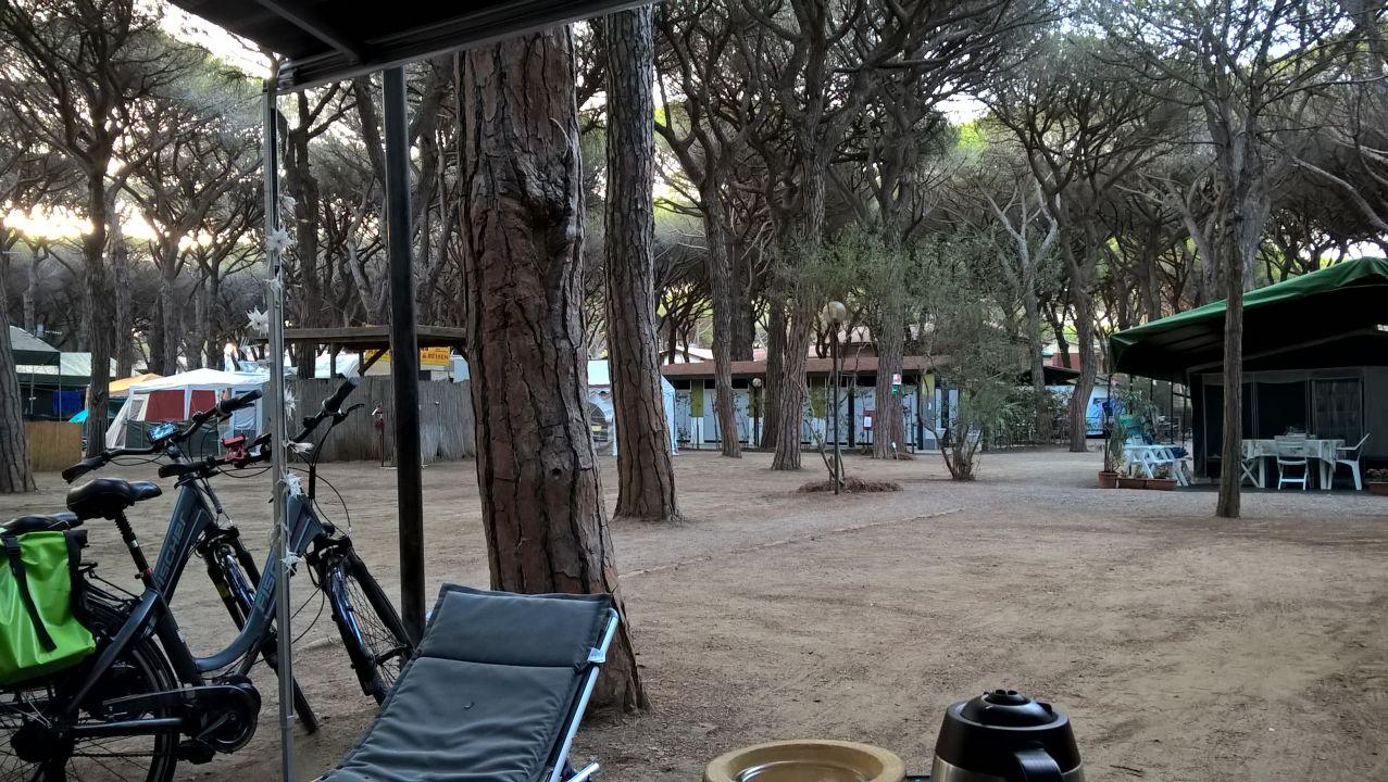 Ausblick Camping Rosmarina