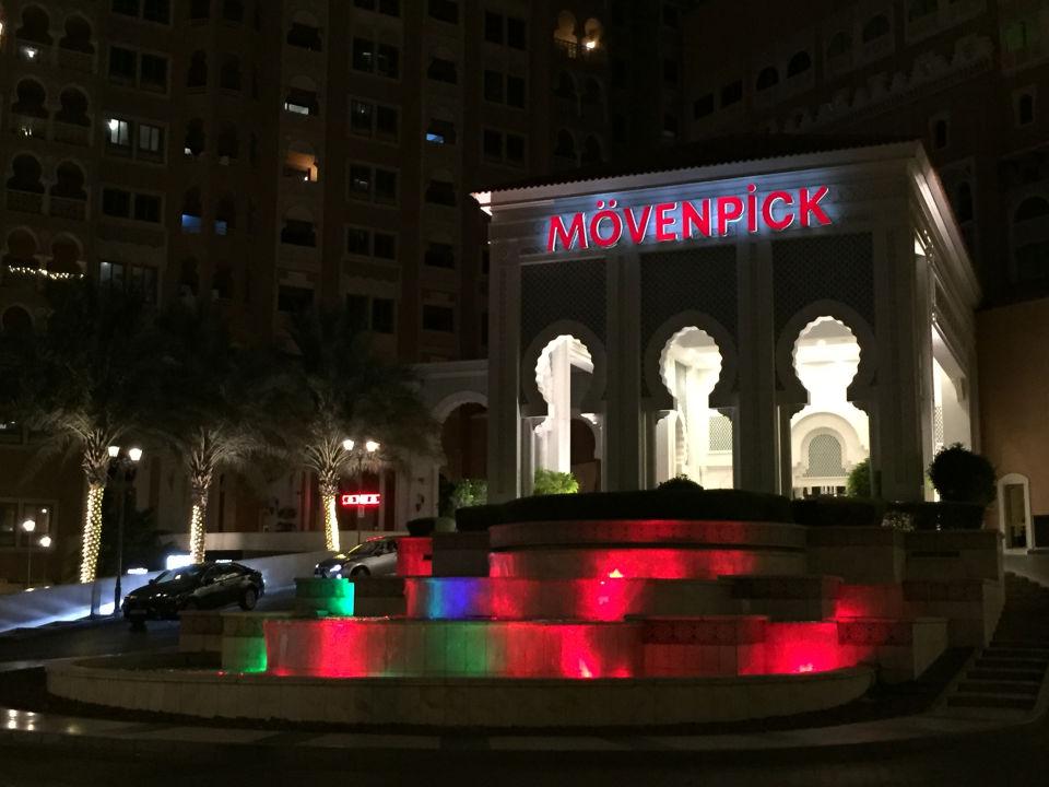 Außenansicht Mövenpick Hotel Ibn Battuta Gate