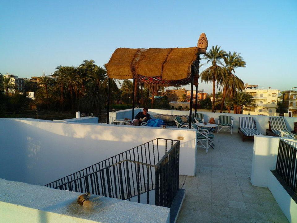 Die Dachterrasse vom Gezira Garden Hotel Gezira Garden