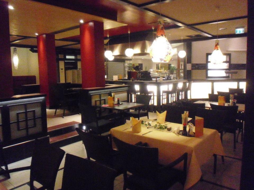 chin restaurant im wellnessbereich b der park hotel sieben welten therme spa resort. Black Bedroom Furniture Sets. Home Design Ideas