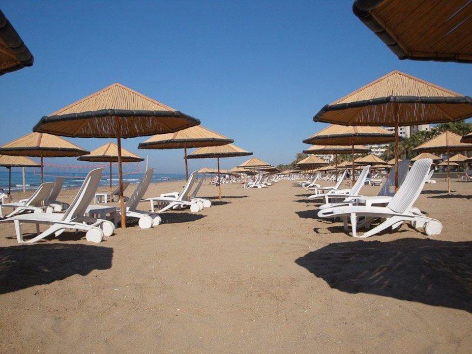 Strand an der Promenade am Defne Star Hotel Defne Star