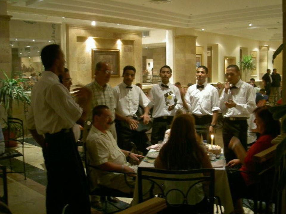 Speisesaal Geburtstagsständchen Hotel Shams Safaga Shams Safaga Resort