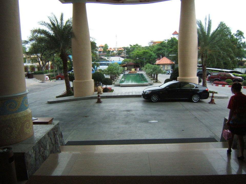 Hotelausgang Hotel Long Beach Garden