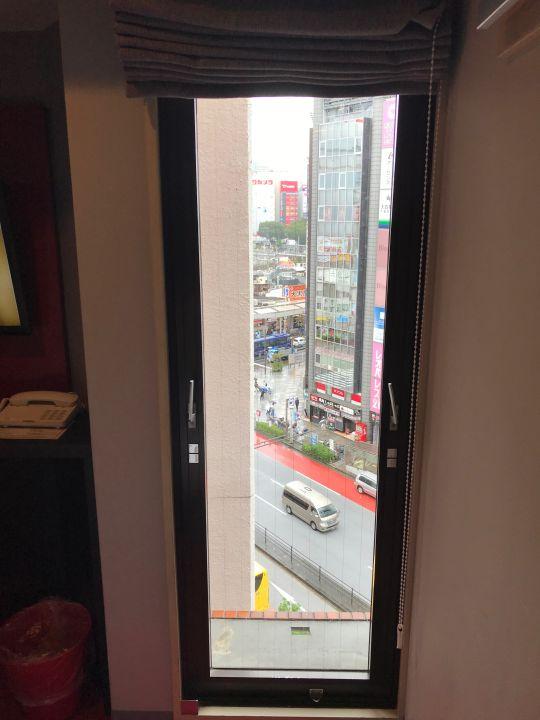 Ausblick ibis Hotel Tokyo Shinjuku