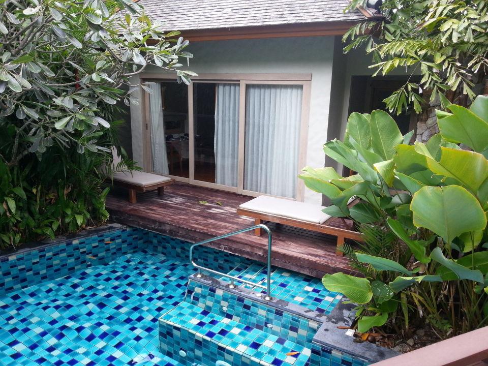 Privater Zugang zum Pool Metadee Resort & Villas