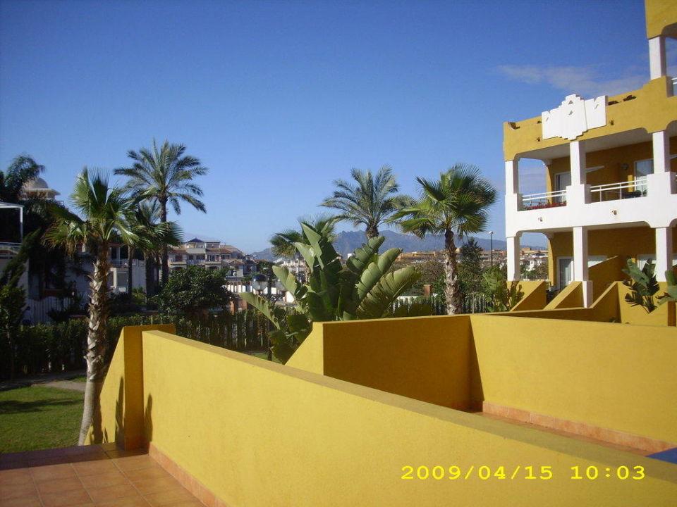 Blick von Terrasse Zimbali Playa Spa Hotel