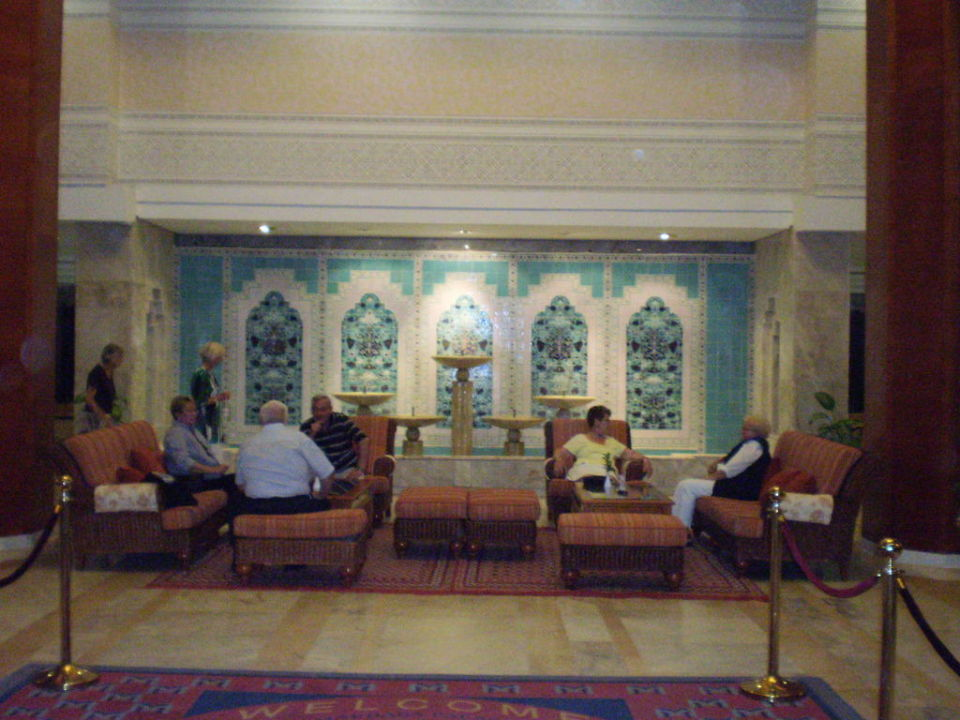 Hotellobby Hotel Marhaba Palace